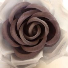 61/2 Grey Tones Silk Rose